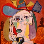 Picasso Frauen Portrait, Sammlung Berggrün, Portrait de Picasso, Collection Berggruen