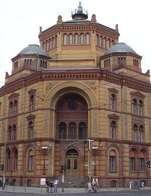 Visite de berlin monuments de berlin postes de berlin relais de poste postfuhramt la - Office du tourisme de berlin ...